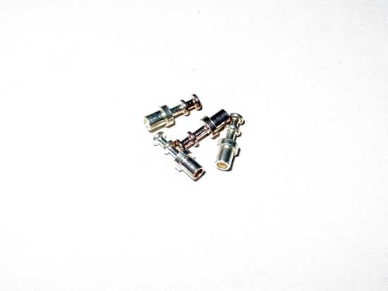 "Turret Terminals - .062"" Board Thickness, Silver Plated"