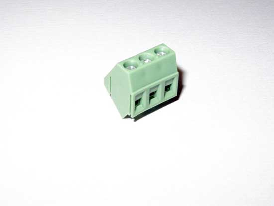 3 Position PCB Terminal Block