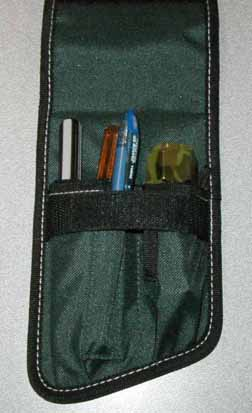 Nylon Belt Mounted Tool Pouch