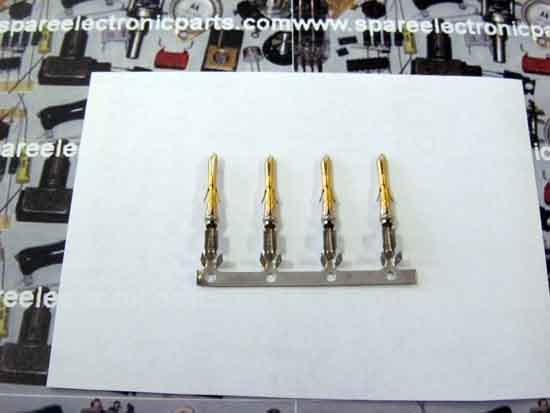 350967-2 Connector Contact Pin - 4 Pack