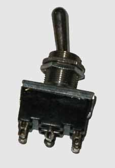 83050-1 Double Pole Double Throw (DPDT) Switch