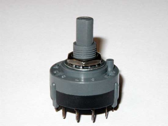 1 Pole 6 Position Rotary Switch - C & K