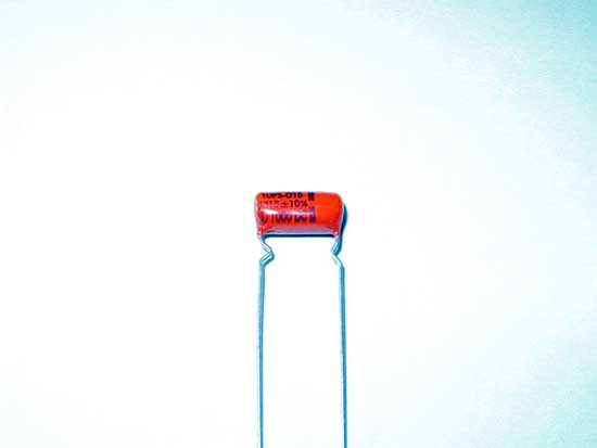 .0015uF 1000VDC Polyester Film Sprague Orange Drop Capacitor