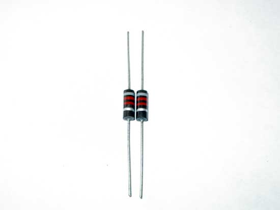 8.2k ohm 1 watt 10% Stackpole Carbon Comp Resistor 2 Pack