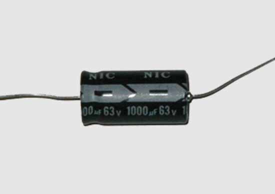 1000uF 63VDC Electrolytic Axial Lead Capacitor