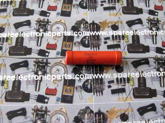 ".47uF 80 VDC Sprague 192P ""Pacer"" Polyester Film Capacitor"