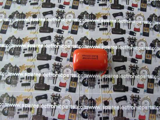 .82uF 100VDC 225P Orange Drop Polyester Film / Foil Capacitor