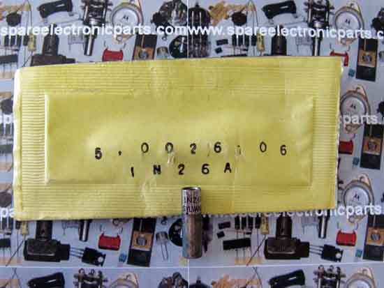 1N26A Silicon Point Contact Microwave Mixer Diode