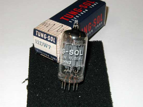 12DW7 / 7247 Vacuum Tube - Tung-Sol New Old Stock