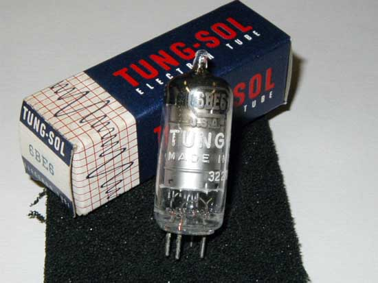 6BE6 Heptode Vacuum Tube - Tung-Sol New Old Stock