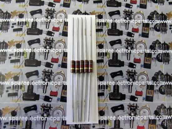 1//2 Watt Carbon Comp Resistors 1.8K ohm 10 Pack