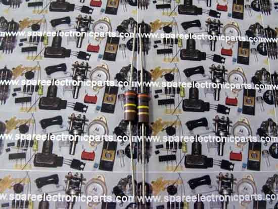 5 Pack Carbon Comp 300K OHM 1//2 Watt 5/% Resistors NOS 1